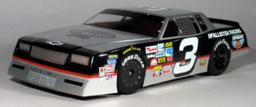 McAllister Racing #268 1/10 1980s Monte Carlo Street Stock Body w/ Decal