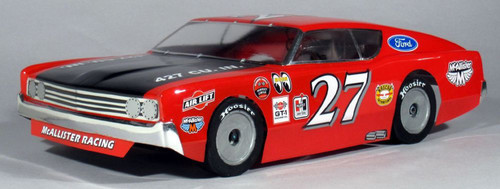 McAllister Racing #303 1/10 1968 Fairlane 500 Street Stock Body w/ Decal