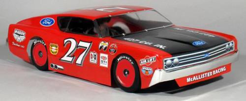 McAllister Racing #303 1/10 1968 Fairlane 500 Street Stock Body w/ Decal