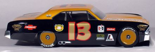 McAllister Racing #306 1/10 1966 Chevelle Street Stock Body w/ Decal