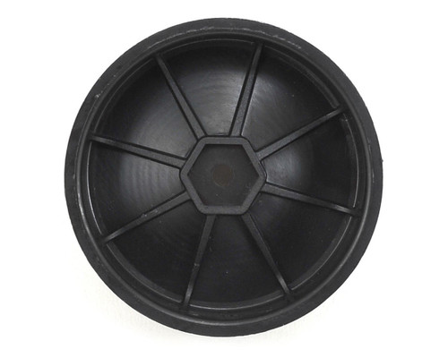 Schumacher Racing U4367 1/10 Buggy Front Black 12mm Hex Wheel  (2)