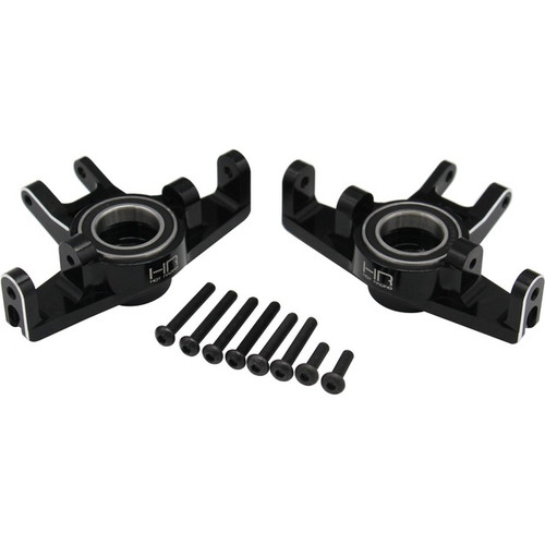 Hot Racing TUDR21M01 Traxxas Unlimited Desert Racer Aluminum HD Bearing Steering Knuckles