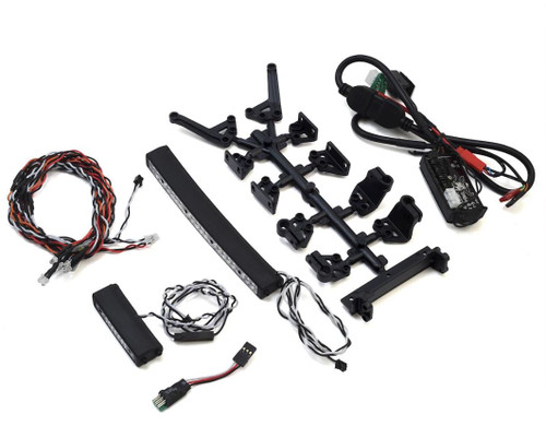 "MyTrickRC Attack Off-Road 1052 Light Bar Kit- 1-DG-1 Controller, 2-Light Bars 2""& 5"", 2-Hi-Power Headlights, 6"