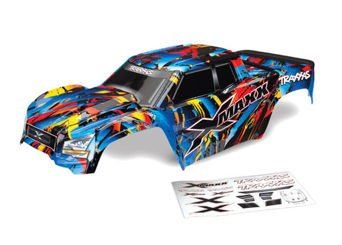 Traxxas 7711T  X-Maxx Body, Rock and Roll