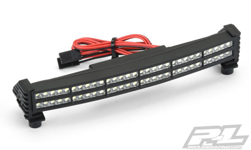 "Pro-Line 6276-05  X-Maxx Double Row 6"" Curved Super-Bright LED Light Bar Kit (6V-12V)"