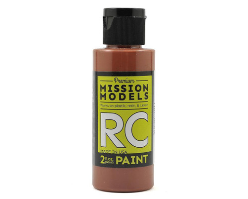 Mission Models RC007 Brown Acrylic Lexan Body Paint (2oz)