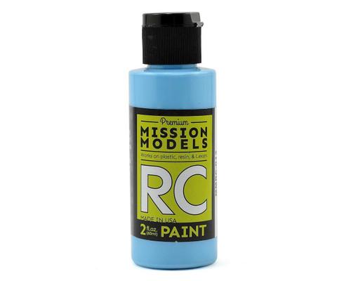 Mission Models RC012 Sky Blue Acrylic Lexan Body Paint (2oz)