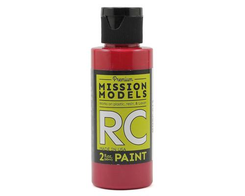 Mission Models RC013 Burgundy Acrylic Lexan Body Paint (2oz)