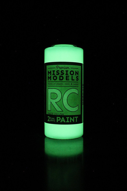 Mission Models RC016 Night Glow Acrylic Lexan Body Paint (2oz)
