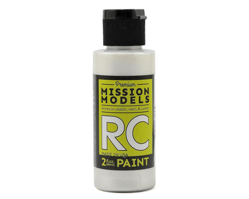 Mission Models RC018 Pearl White Acrylic Lexan Body Paint (2oz)