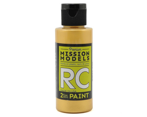 Mission Models RC020 Pearl Gold Acrylic Lexan Body Paint (2oz)