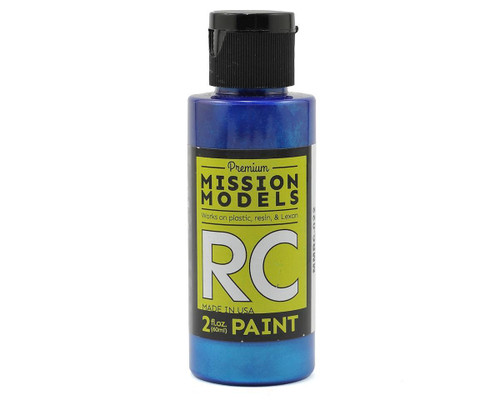 Mission Models RC022 Pearl Blue Acrylic Lexan Body Paint (2oz)
