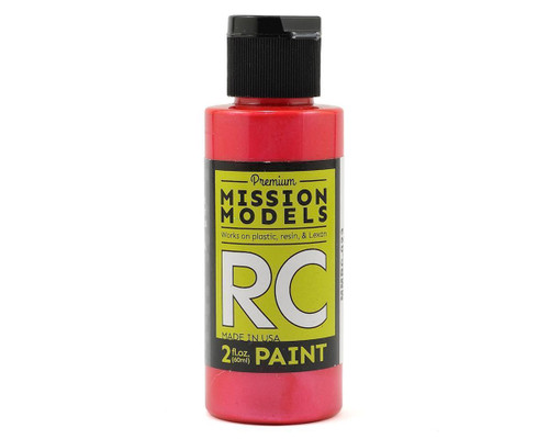 Mission Models RC023 Pearl Red Acrylic Lexan Body Paint (2oz)