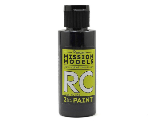 Mission Models RC025 Pearl Black Acrylic Lexan Body Paint (2oz)