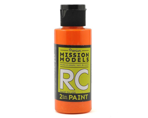 Mission Models RC026 Pearl Orange Acrylic Lexan Body Paint (2oz)