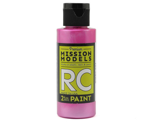 Mission Models RC027 Pearl Berry Acrylic Lexan Body Paint (2oz)