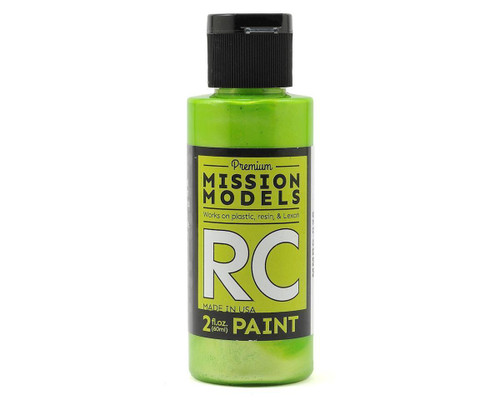 Mission Models RC028 Pearl Lime Acrylic Lexan Body Paint (2oz)