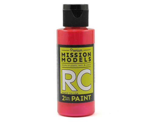 Mission Models RC029 Iridescent Red Acrylic Lexan Body Paint (2oz)