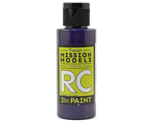 Mission Models RC031 Iridescent Purple Acrylic Lexan Body Paint (2oz)