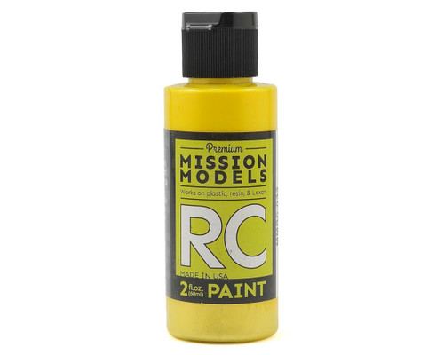 Mission Models RC033 Iridescent Yellow Acrylic Lexan Body Paint (2oz)