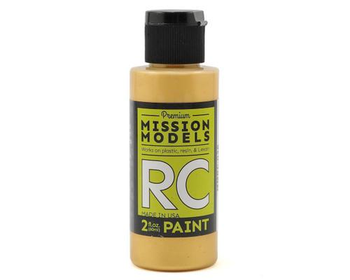 Mission Models RC038 Color Change Gold Acrylic Lexan Body Paint (2oz)