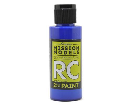 Mission Models RC053 Translucent Blue Acrylic Lexan Body Paint (2oz)