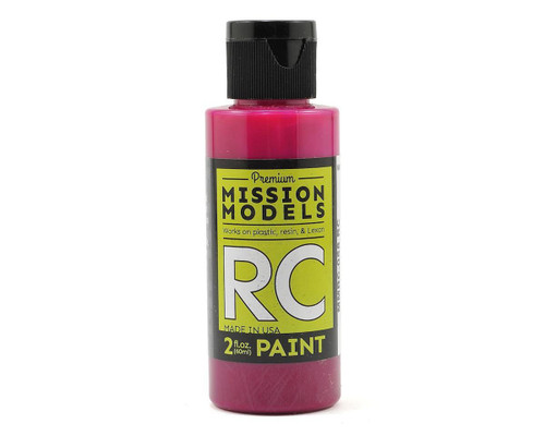 Mission Models RC058 Translucent Pink Acrylic Lexan Body Paint (2oz)
