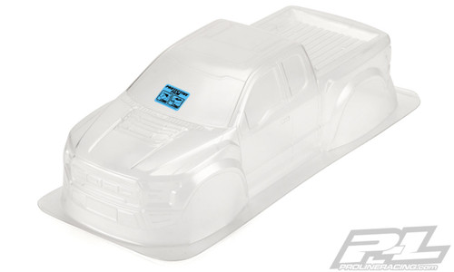 "Pro-Line 3516-00 2017 Ford F-150 Raptor 12.3"" Rock Crawler Body (Clear)"