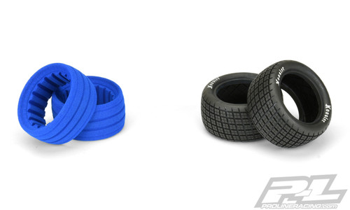 "Pro-Line 8274-03 Hoosier Angle Block Dirt Oval 2.2"" Rear Buggy Tires (2) (M4)"