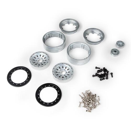 "Gmade 1.9"" AR03 6 Lug Aluminum Beadlock Wheels (2)"