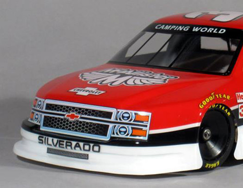 McAllister Racing #301 1/10 Chevy Nastruck Body w/ Decal