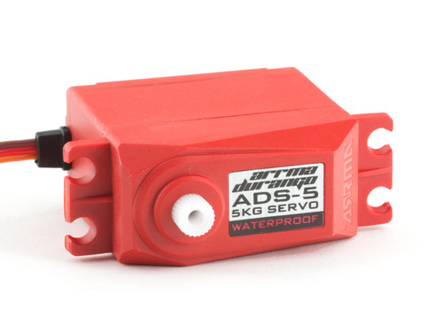 Arrma 390133 ADS-5 V2 4.5kg Waterproof Servo (Red)