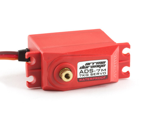Arrma 390136 ADS-7M V2 6.5kg Waterproof Servo (Red)