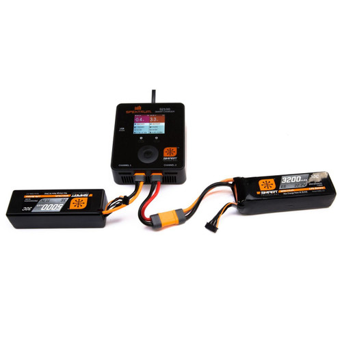 Spektrum 3S Smart LiPo Battery Pack w/IC3 Connector (11.1V/1300mAh)