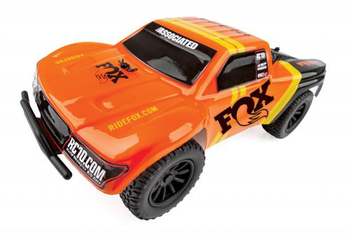 Team Associated SC28 FOX Factory Edition 1/28 Scale RTR 2wd Short Course Truck w/ 2.4GHz Radio