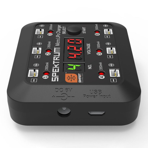 Spektrum S63 DC/USB 1S LiPo Smart Charger