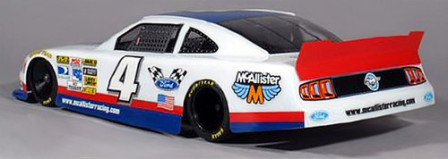 McAllister Racing #299UL 1/10 Xfinity Mustang Ultralight Body w/ Decal