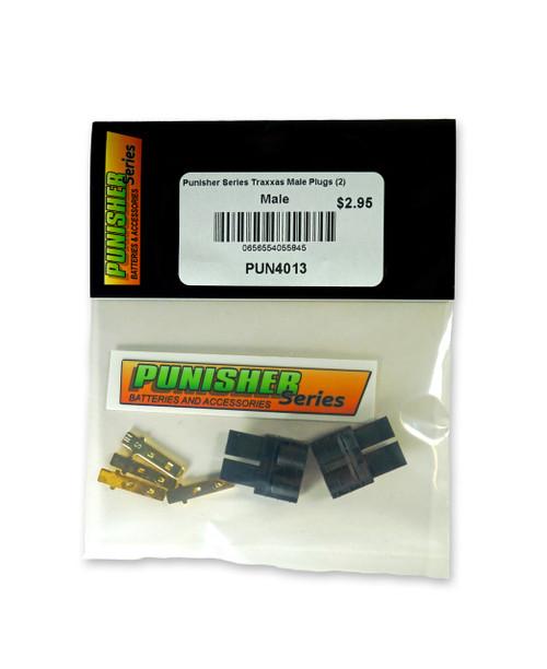 Punisher Series PUN4013 Traxxas Male Plugs (2)