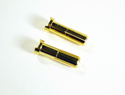 Punisher Series PUN4007 Low Profile 5mm Gold Plated Bullet Connector