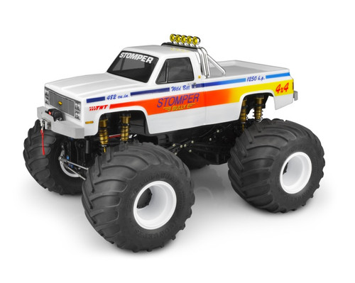 JConcepts 0381 1982 GMC K2500 Traxxas Stampede Body (Clear)