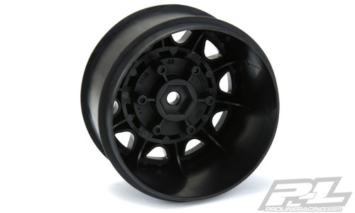 "Pro-Line 2774-03 Raid 2.8"" Wheel w/Removable Hex (Black) (2)"
