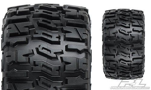 "Pro-Line 1170-10 Trencher 2.8"" Tires w/Raid 6x30 Wheels (2) (Black) w/ Removable Hex"