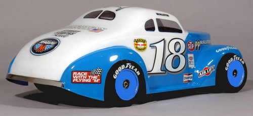 McAllister Racing #309 1940 Bomber Stock Body w/ Decal