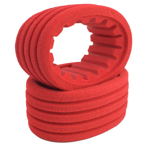 DE Racing DER-G6R-D30 Mini G6T Modified SS Dirt Oval Rear Tires (D30 Super Soft Compound) (2)