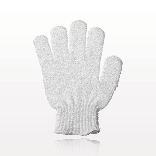 Gentle shower exfoliating glove