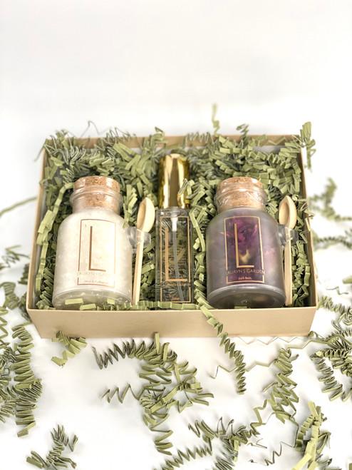 Bath + Toner Gift Set