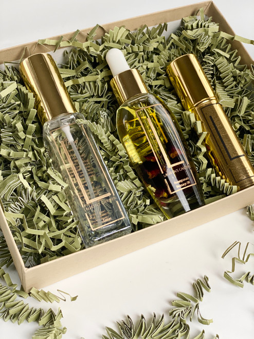 Tone, Moisture and Sanitizer Gift Set