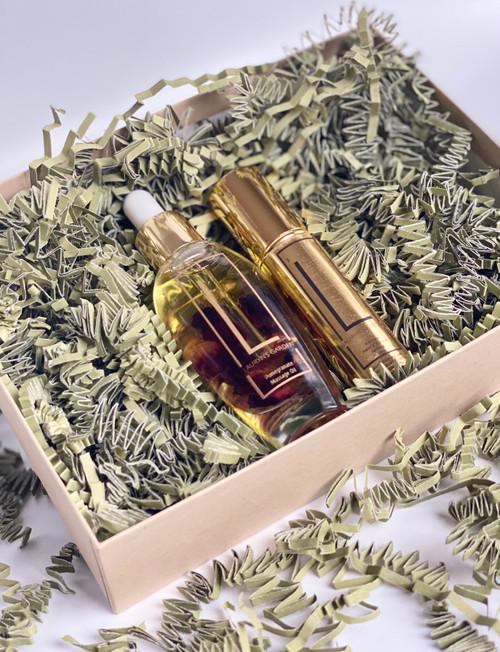 Massage and Sanitizer Gift Set