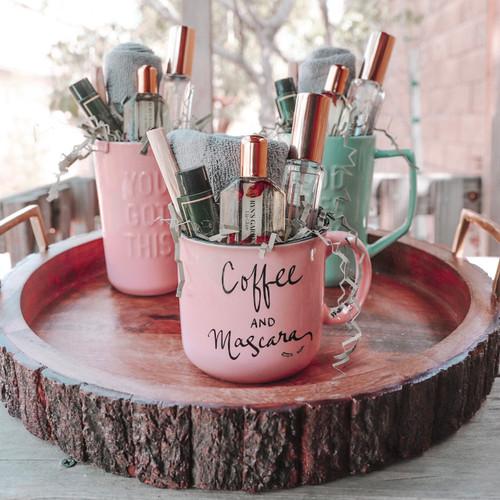 Coffee & Mascara- Mug Gift Set