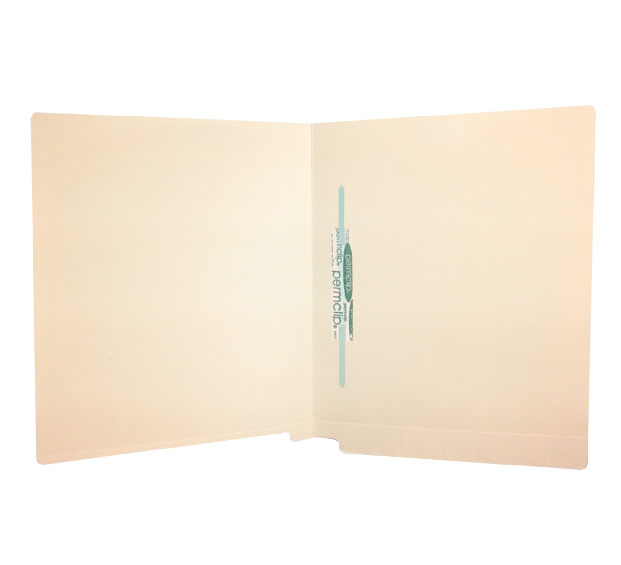 Medical Arts Press Manila Full-Pocket End-Tab Folders 1 Fastener Straight-Cut Tab Letter Size 50//Box